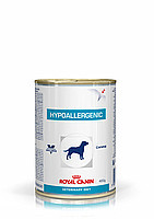 Royal Canin hypoallergenic 12шт*400г-консерва для собак при пищевой аллергии