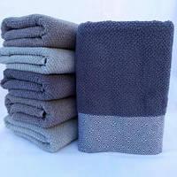 БАННОЕ махровое полотенце. Однотонные 06-1