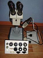 Микроскоп стереоскопический МБС-9 Новый с зипом полный комплект