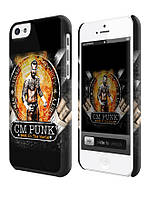 Чехол  для iPhone 5 C WWE CM Punk