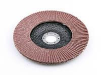 Круг лепестковый шлифовальный торцевой 14А КЛТ 125х22 №40 (Р40) тип А ТУ (Бригадир)