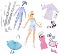 Подарочный Адвент-календарь, кукла барби с одеждой и аксессуарами 24 предмета, Barbie Careers Advent Calendar