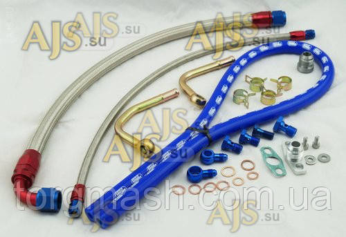 Набор для установки турбины T04L Subaru на ВАЗ 2112