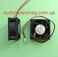 Вентилятор (кулер) 12V 0.18A, 60х60х25 мм, компьютерный