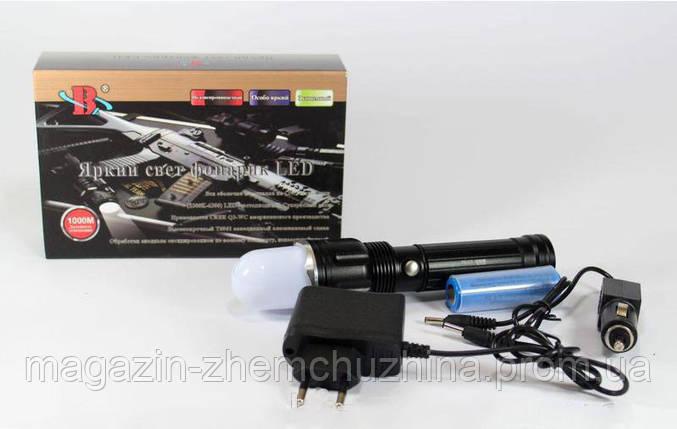 Светодиодный фонарик Bailong BL TS 60 / BL 901!Акция, фото 2