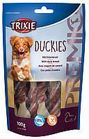 Trixie TX-31538 Premio Duckies 100 гр - лакомство утка с кальцием  для собак, фото 2