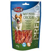 Trixie TX-31584 Premio Sweet Potato Chicken 100г - лакомство с курицей и сладким картофелем  для собак