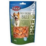 Trixie TX-31701 Premio Rice Chicken Balls 80г - лакомство рисово-куриные шарики для собак
