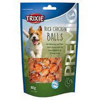 Trixie TX-31701 Premio Rice Chicken Balls 80г - лакомство рисово-куриные шарики для собак, фото 2