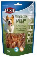 Trixie TX-31590 Premio Fish Chicken Wraps  80 гр - лакомство с курицей и рыбой для собак, фото 2