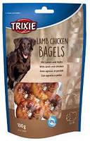 Trixie TX-31707 Premio Lamb Chicken Bagles 100г - бублики с ягненком и курицей для собак, фото 2