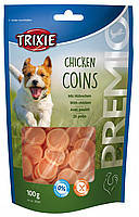 Trixie TX-31531 Premio Chicken Coins 100гр - монетки  с курицей для собак, фото 2