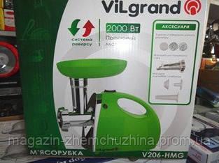 Мясорубка VILGRAND V206-HMG, фото 2