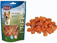 Trixie TX-31748 PREMIO Fish Chicken Wheels 75гр - лакомство для собак   с курицей и рыбой, фото 2
