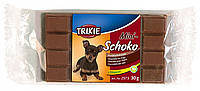 Trixie TX-2973 Mini-Schoko Dog Chocolate - лакомство для собак  30гр, фото 2