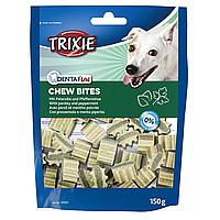 Trixie TX-31501 Chew Bites - лакомство для собак  150 гр с мятой