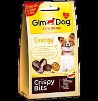 GimDog Crispy Bits Energy 40г-  мясные фрикадельки для собачек  (G-509785)