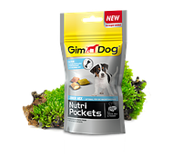 GimDog Nutri Pockets JUNIOR 45г-витамининизированные подушечки для щенков (G-509686), фото 2