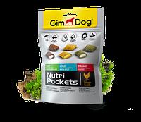 GimDog Nutri Pockets Mixs 150г-витамининизированные подушечки для собак  (G-509631)
