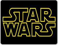 Коврик для мыши Star Wars - Yellow Logo