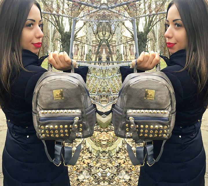 Женский рюкзак маленький