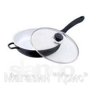 Сковорода Edenberg c крышкой 24 см