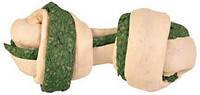 Trixie  TX-31302 Denta Fun Knotted Chewing Bone with Spirulina Alga 110г-кость с узлами  и спирулиной, фото 2