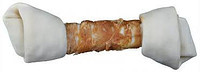Trixie  TX-31322  Denta Fun Knotted Chewing Bones with Chicken 70г-кость с узлами и куриным филе для собак