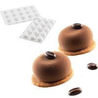 Силиконовая форма для муссовых десертов STONE 30х17см