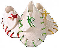 Trixie TX-31447 Denta Fun Dog Snack Chewing Shoes (10шт)-жевательные башмаки для мини собак, фото 2