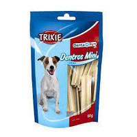 Trixie  TX-31773 Denta Fun Dentros Mini 60г жевательные палочки из птицы  для мини собак, фото 2