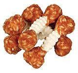 Trixie TX-31342 Denta Fun Dumbbell 100г/6шт-жевательные гантели  с курицей и рисом