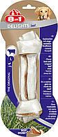 8in1 Beef Delights L (21см)  кость для чистки зубов у собак с вкусом мяса, фото 2