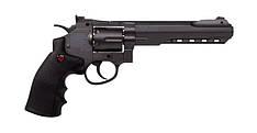 Пневматический револьвер Crosman SR357 Black