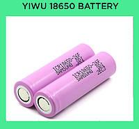 Yiwu 18650 battery Samsung 2600mah (real 2000mah)