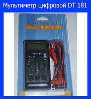 Мультиметр цифровой DT 181