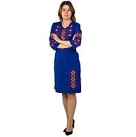 Женское вышитое платье вышиванка в украинском стиле