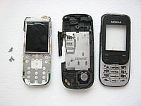 Запчасти для Nokia 2330c-2 (корпус, кнопки, микрофон, динамик, камера, плата, корпус)