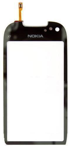 Сенсор (Touch screen) Nokia C7 зеркальный оригинал