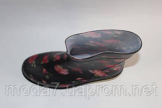 Женские резиновые  сапоги,полусапоги -разные цвета, фото 2