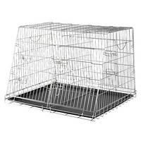 Trixie TX-3930 Клетка для собак оцинкованная двойная для автоперевозок, фото 2