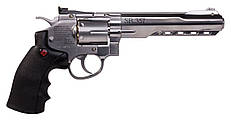 Пневматический револьвер Crosman SR357 Silver