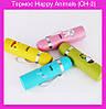 Термос Happy Animals (CH-2) (голубой, зеленый, желтый, розовый)