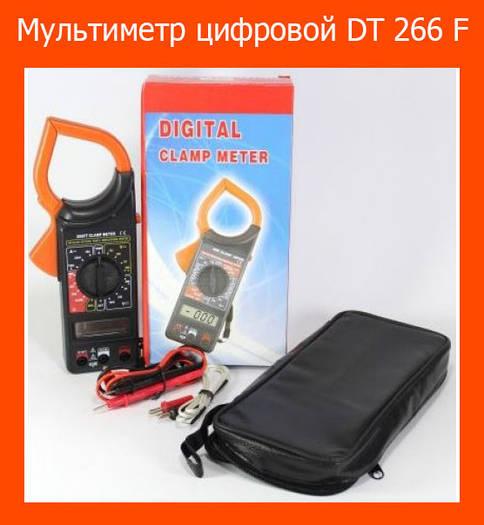 Мультиметр цифровой DT 266 F