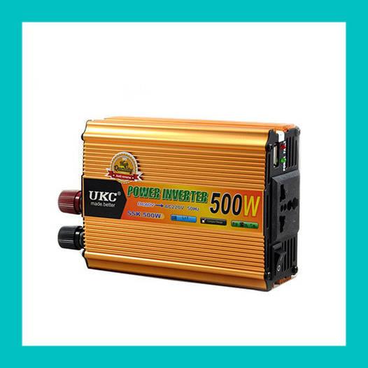 Преобразователь UKC Inverter 500W