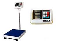 Весы торговые электронные со стойкой 100 кг