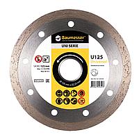 Алмазный отрезной диск Baumesser Universal 1A1R 125x1,4x8x22,23 (91315129010), фото 1
