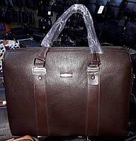 Мужская сумка Bradford B8920-5 для планшета и документов А4 искусственная кожа 42см х 30см х 10см Коричневый, фото 1