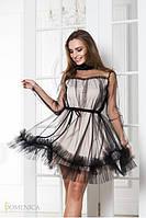 Нарядное воздушное платье из фатина (разные цвета)