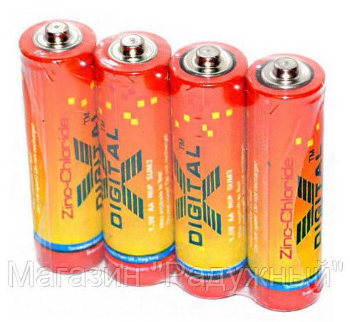 Батарейки X-DIGITAL LONGLIFE R 6 (1X4шт)
